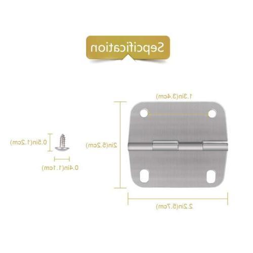3 Steel Replace Hinges Screws Coolers