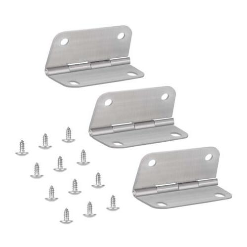 3 pack stainless steel replace cooler hinges