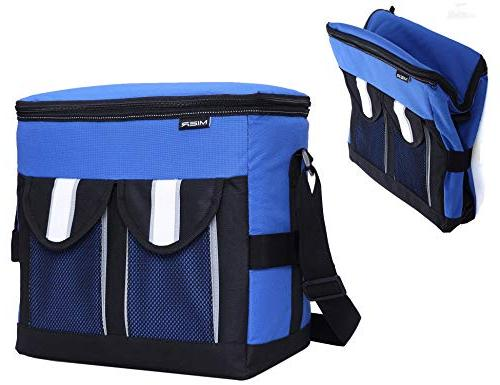 30cans collapsible soft cooler bag