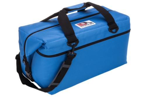 36 pack canvas soft sided cooler royal