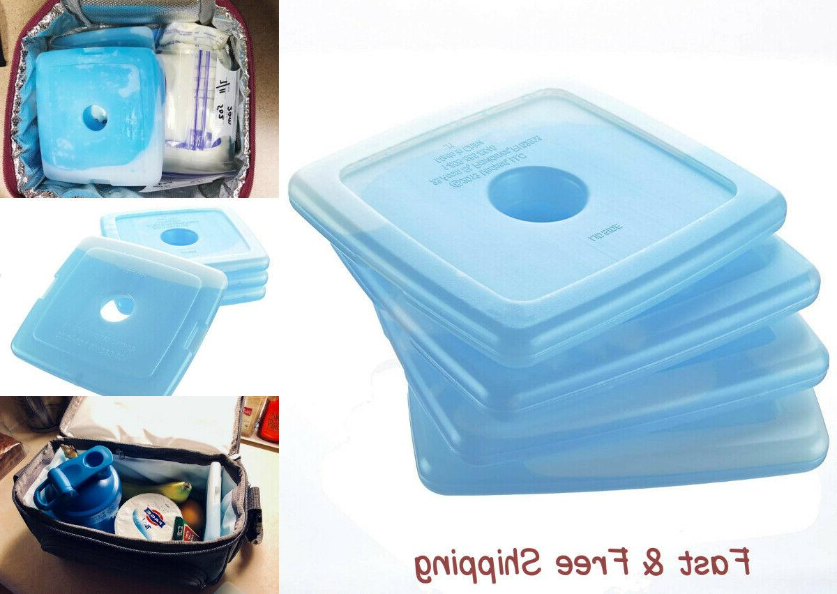 4 fit and fresh slim reusable ice