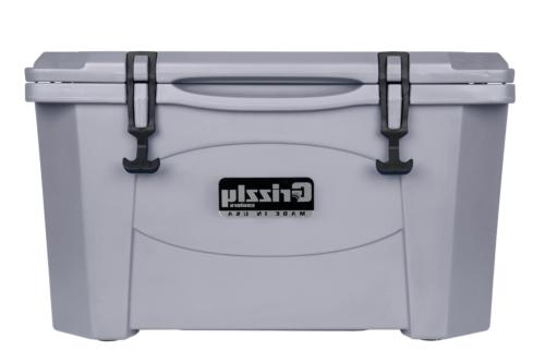 40 quart rotomolded cooler gray