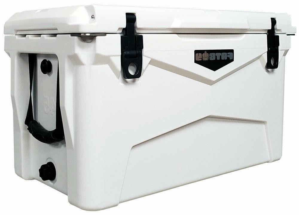 Fatboy QT Quart RotoMolded Cooler White