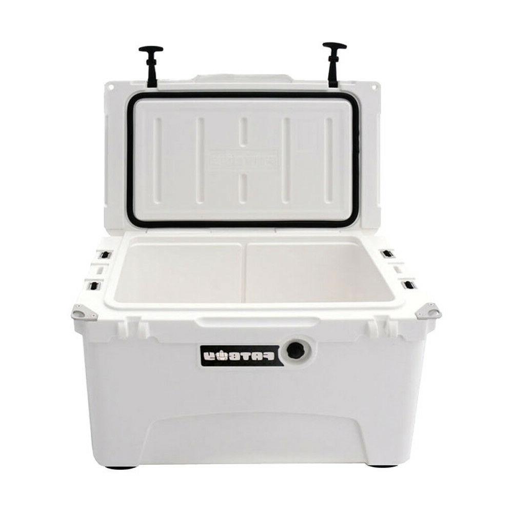Fatboy 45 Quart RotoMolded Cooler White