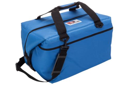 48 pack canvas soft sided cooler royal