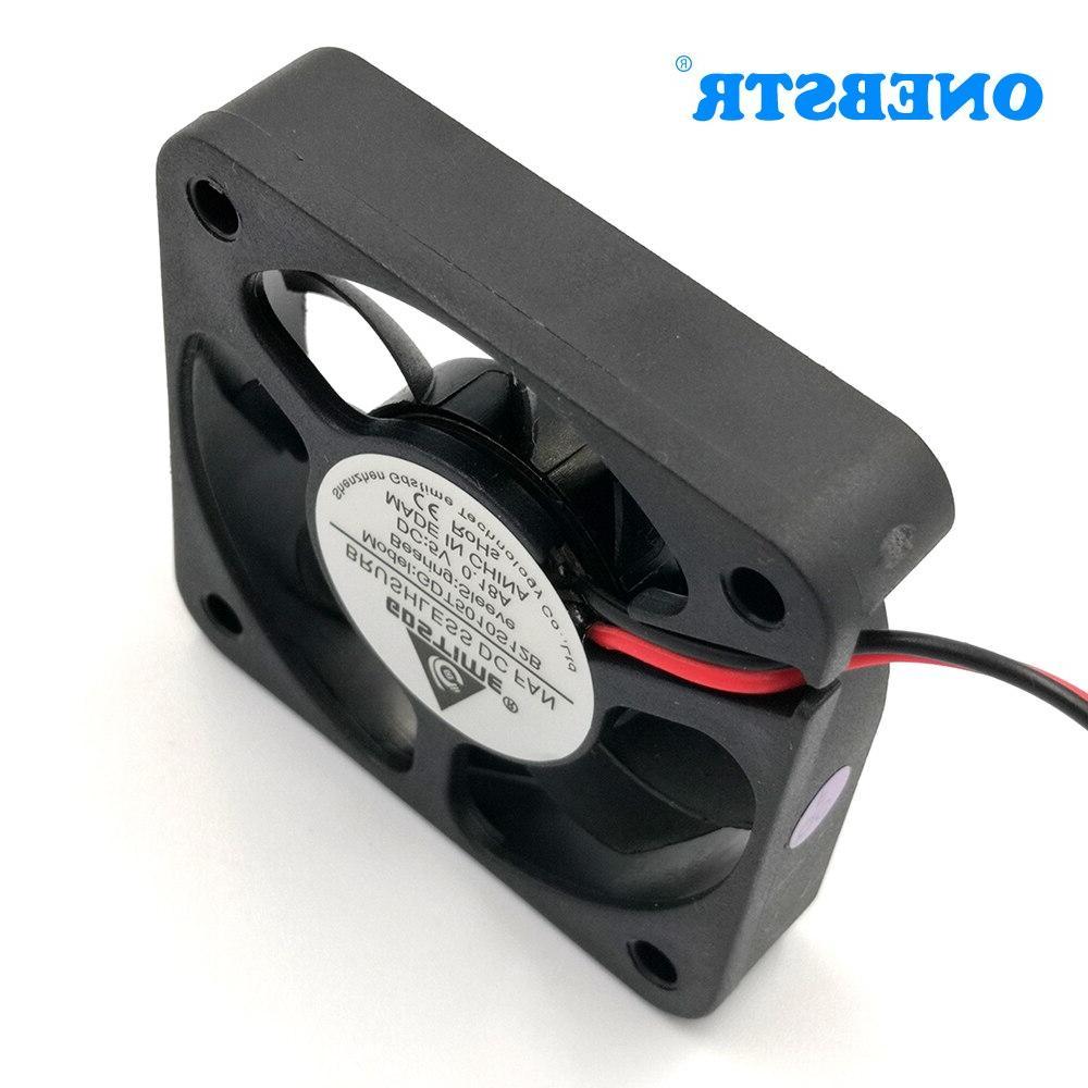 5010 Brushless 5V 12V <font><b>Small</b></font> Mini Radiator <font><b>Cooler</b></font> Industrial Cooling Fan