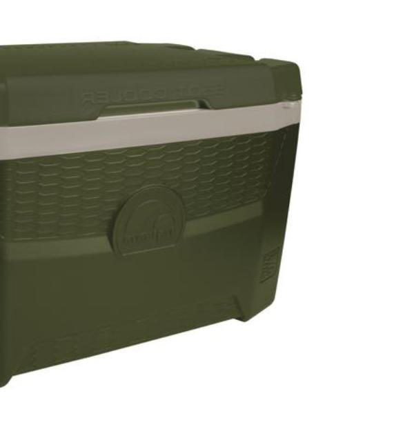 55 Qt Chest Cool Large Lid 4 Built In Holder
