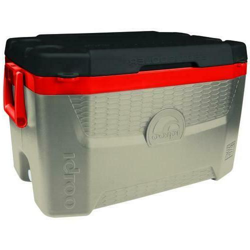 55 Qt Chest Box Large Fish Ruler 4 Built In Cup Holder