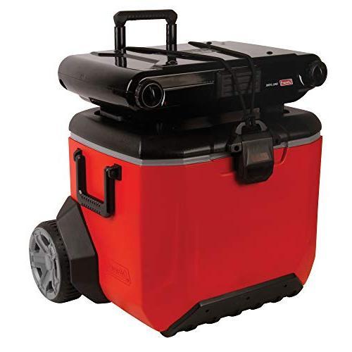 Coleman Rugged A/T Wheeled Cooler, 55 Quart