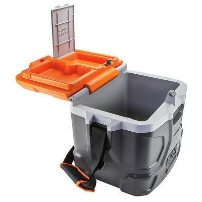 Klein 17 qt. Tradesman Pro Tough Box Hard Cooler,