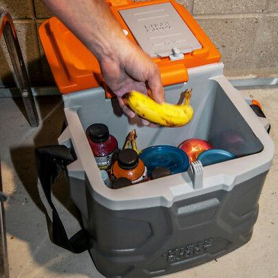 Klein 55600 17 Tradesman Hard Cooler, Gray