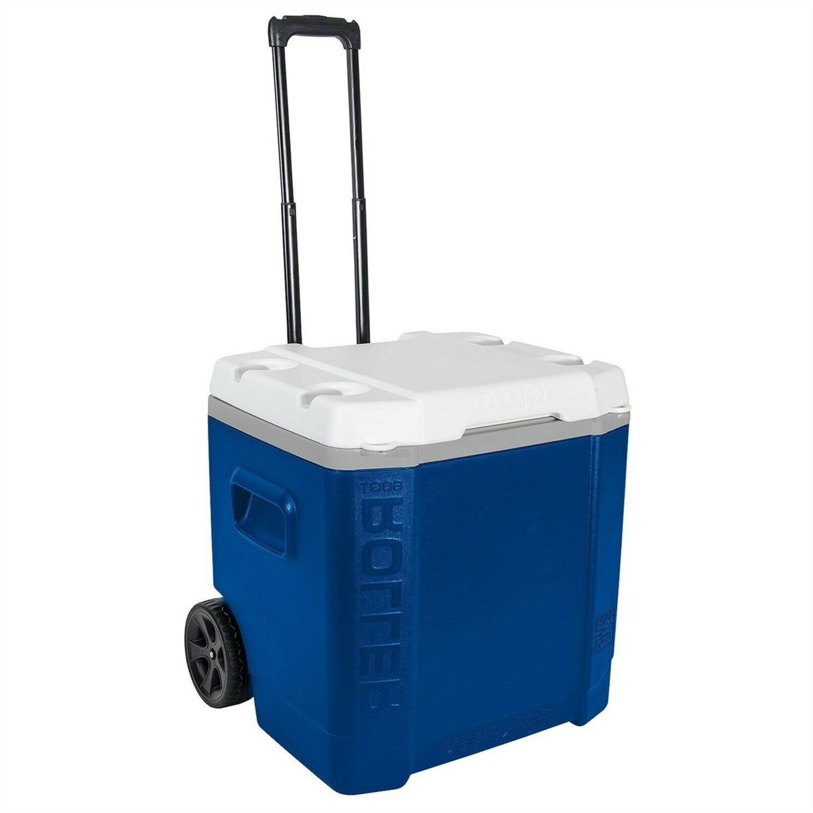 60 quart ice cube roller cooler