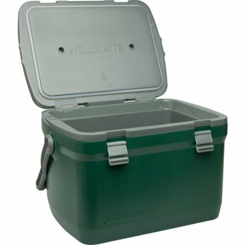 adventure cooler green 7 quart