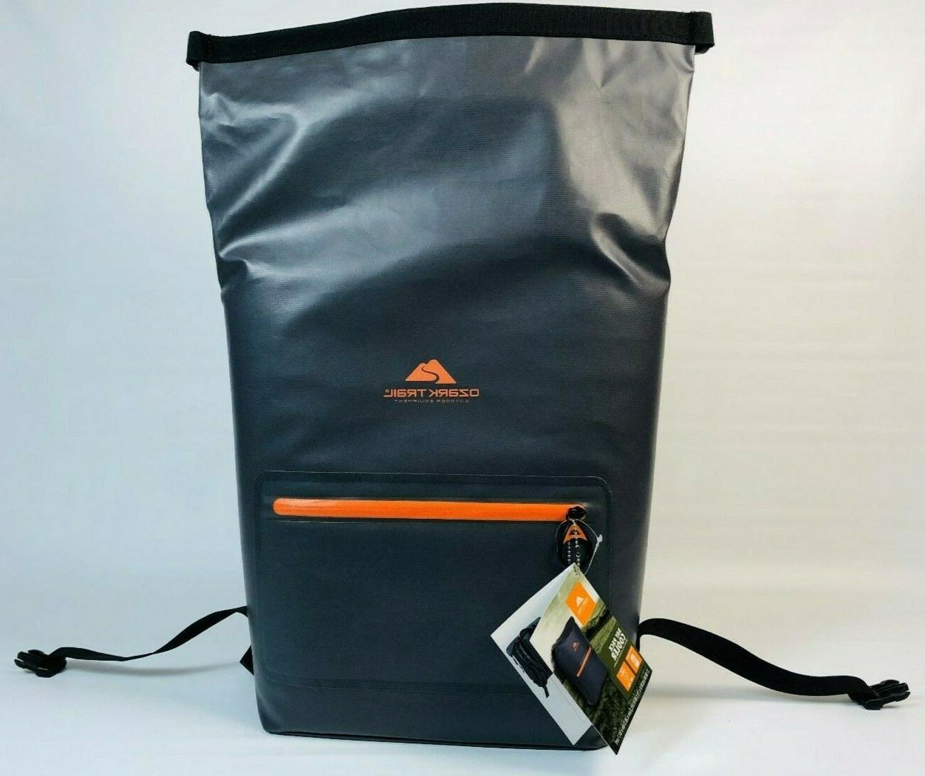 backpack cooler by 15 cans ice gray