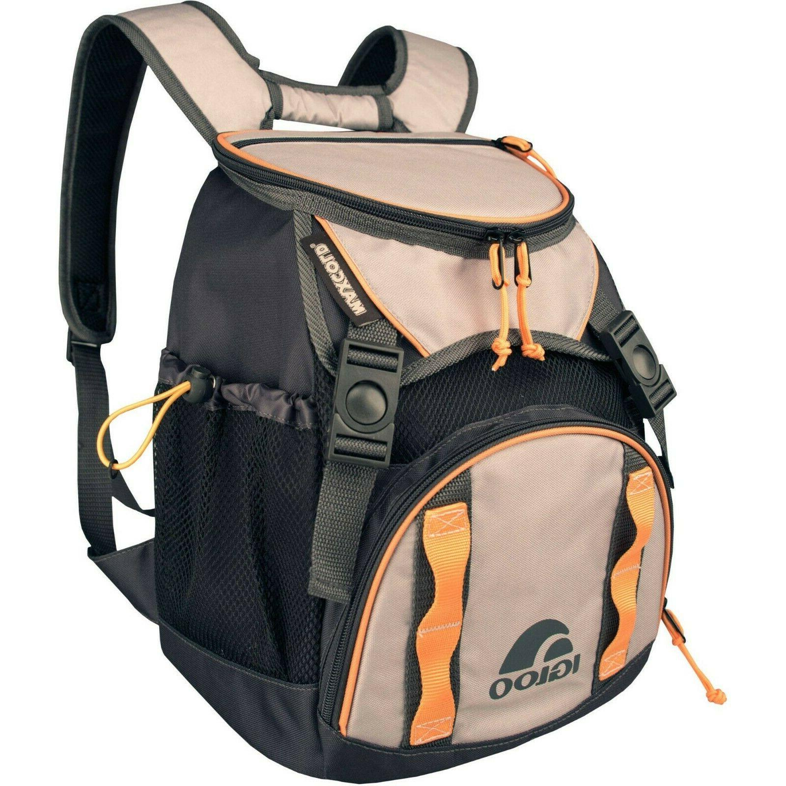backpack cooler outdoor camping durable sleek sturdy