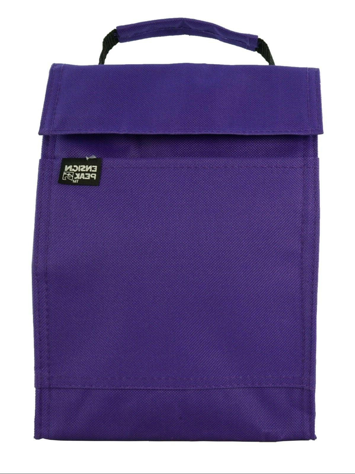 Ensign Lunch Sack / Tote Reusable, Travel, Work