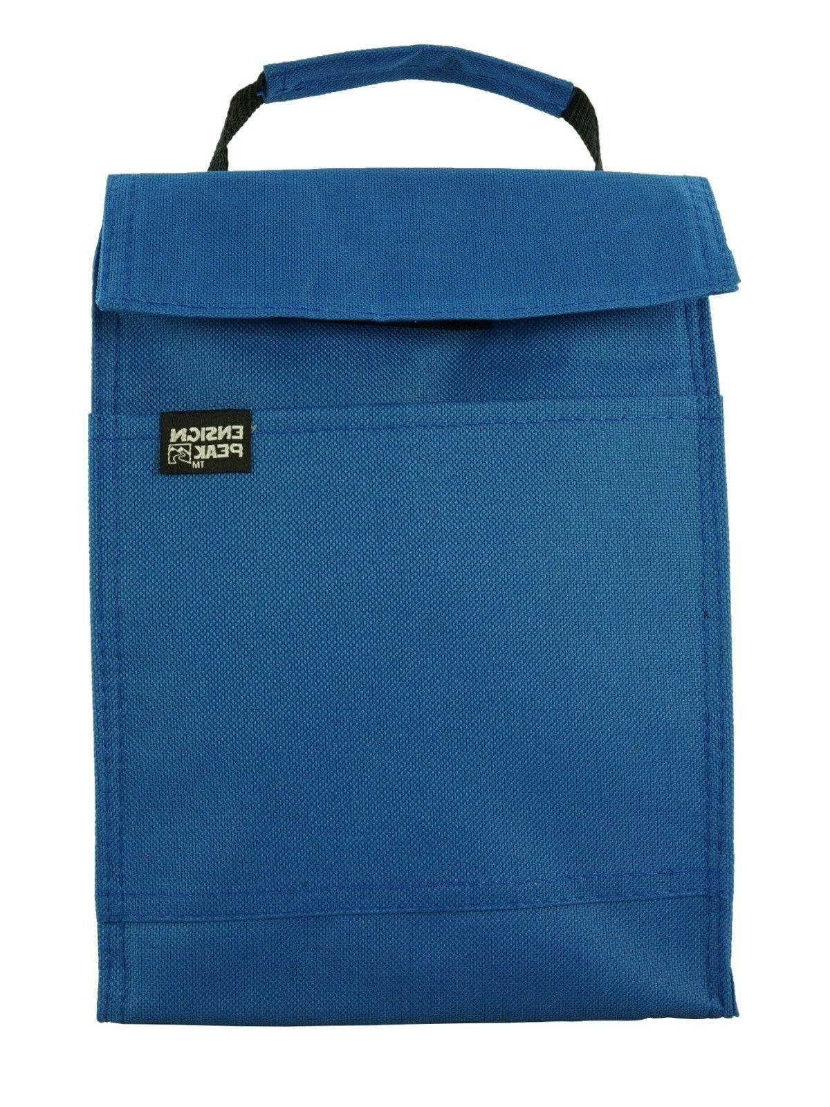 Ensign Basic Insulated Lunch Tote Travel, Work