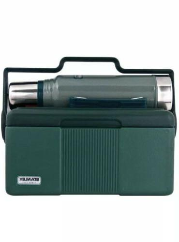 bundle green heritage cooler 7 qt classic