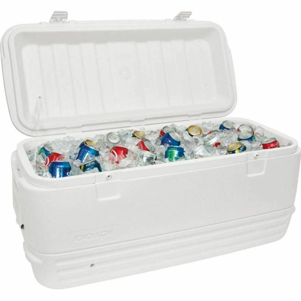 camping coolers on sale 120qt large beverage