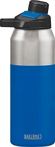 CamelBak Chute Mag Stainless Water Bottle, 32oz, Cobalt