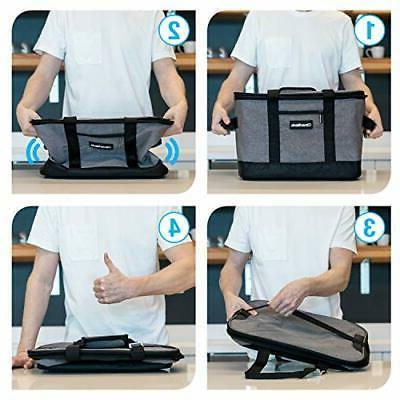 CleverMade Bag: Insulated Soft Portabl