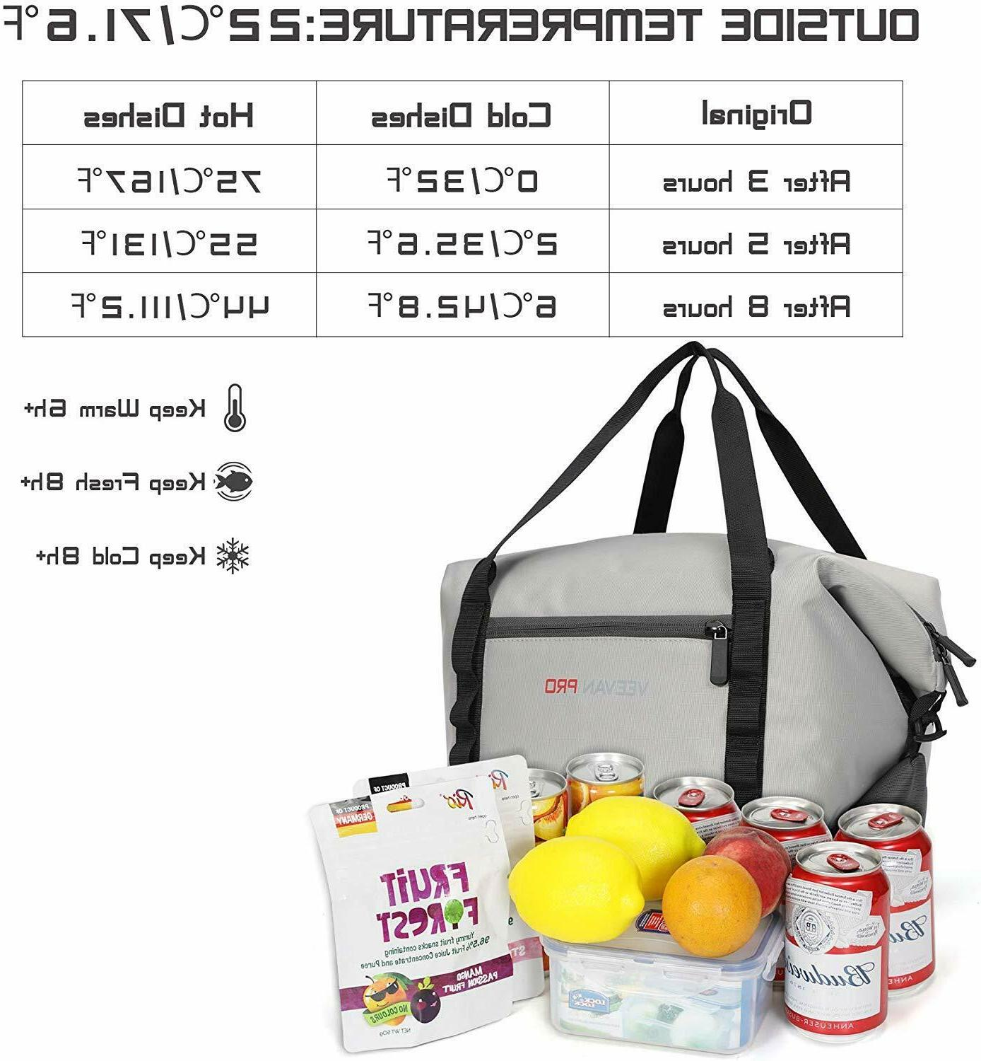 Veevanpro Cooler Insulated Picnic