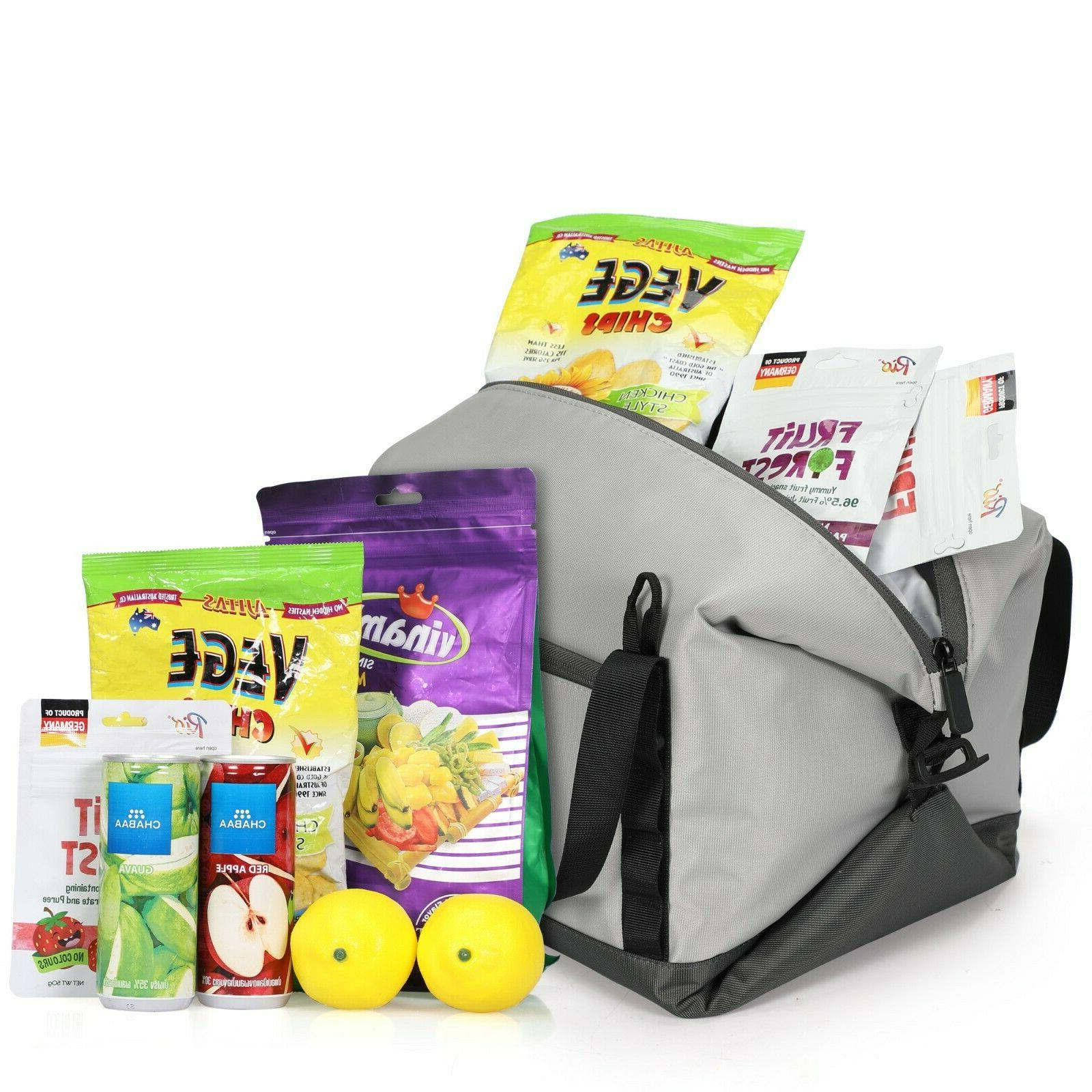 Veevanpro Insulated Tote 19L Picnic 30 Cans