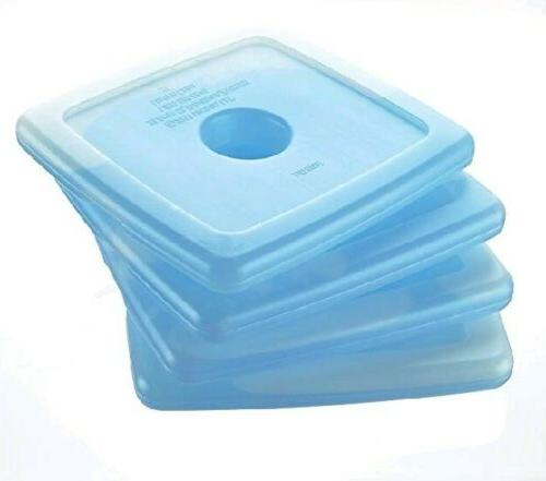 Cool Slim Reusable Ice Packs Lunch Boxes Bags and Coolers