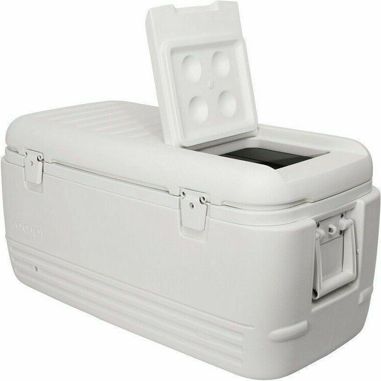 cooler 100 quart ice chest travel box