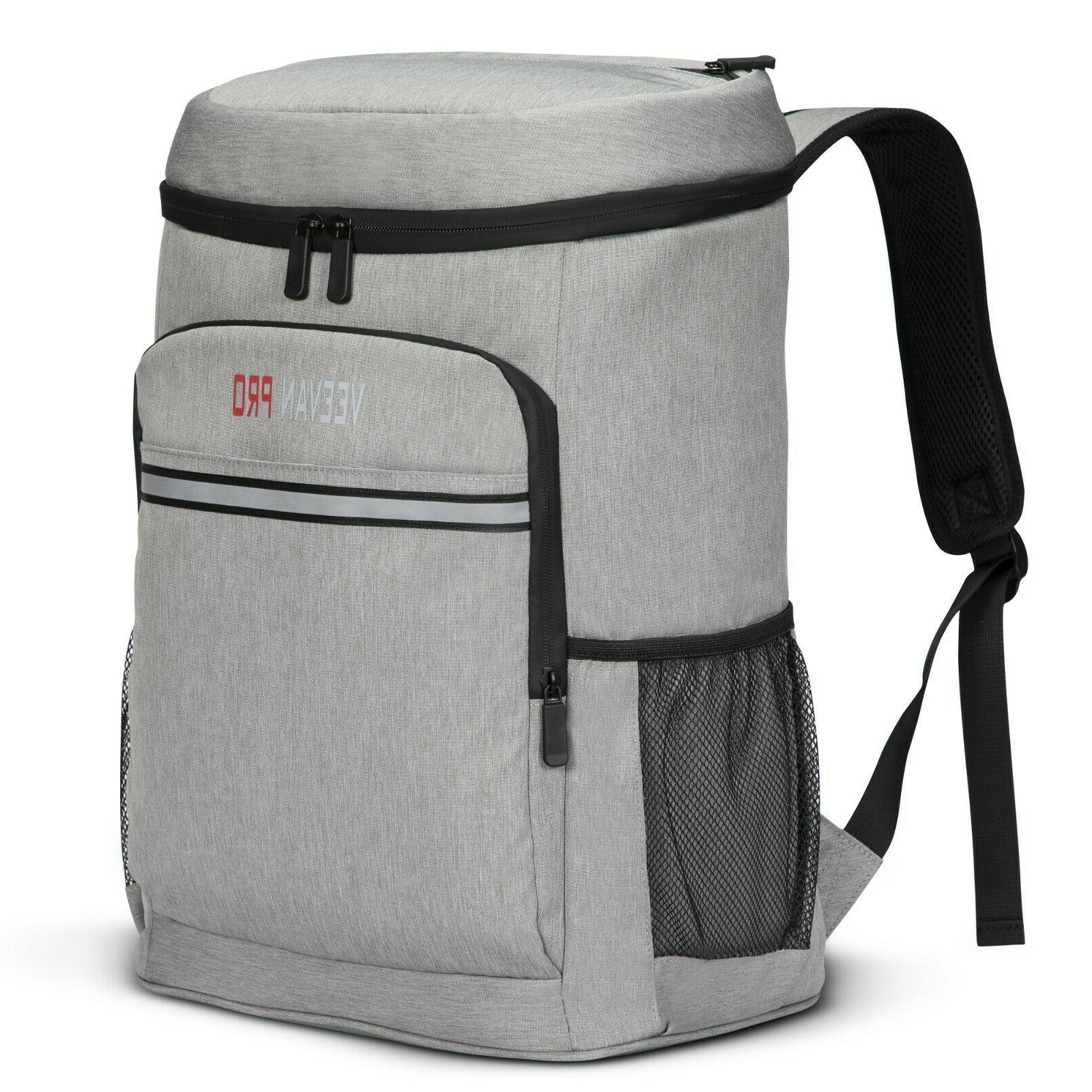 cooler backpack 40 cans lightweight insulated backpack