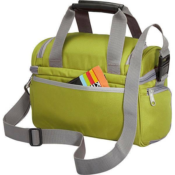 crew cooler jr zippered mesh pocket travel
