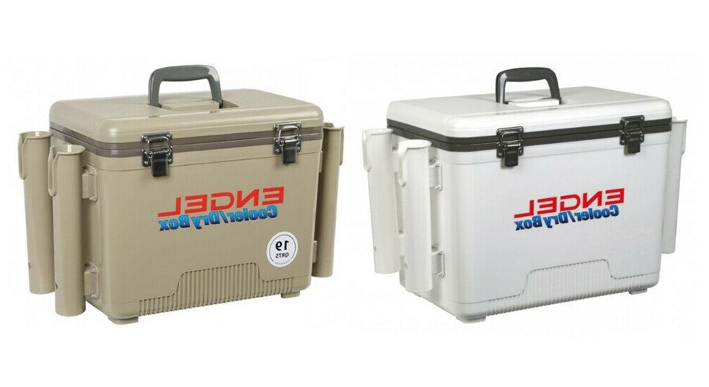 dry box cooler 19 qt with rod