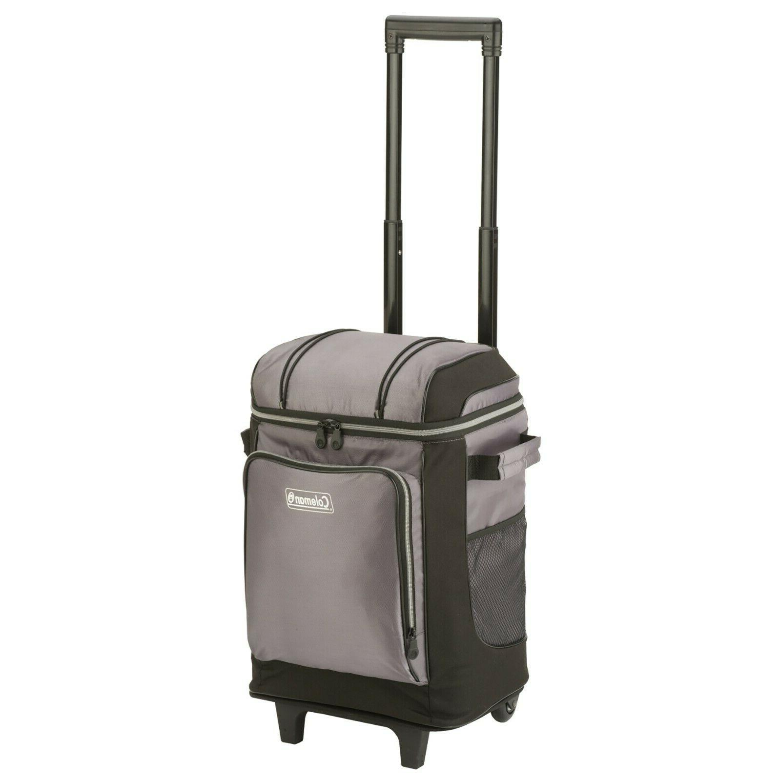 Coleman Durable 42-Can Soft Cooler with Removable Liner & Wh