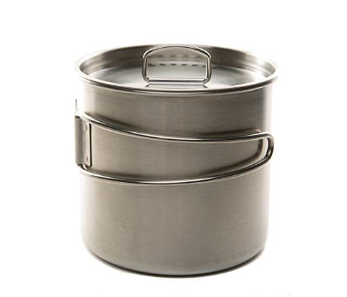 dzo stainless hiking camping backpacking