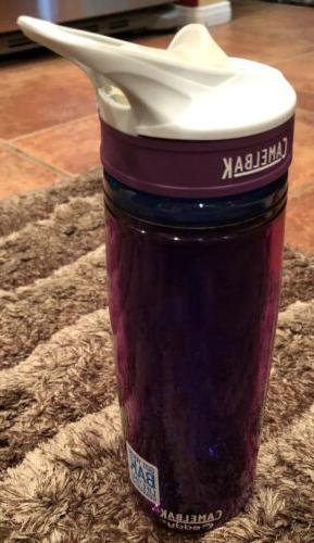 CamelBak Eddy Insulated Water Bottle, Hibiscus, .6-Liter