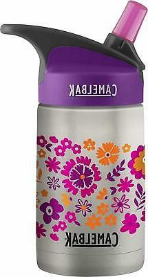 CamelBak Eddy Kids Vacuum Stainless Waterbottle, Retro Flora
