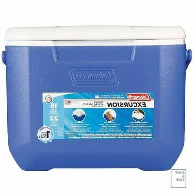 Coleman Cooler Lunch Camping Garden Party Home Blue