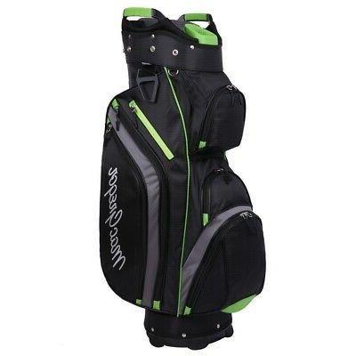 golf cooler 14 divider top cart bag