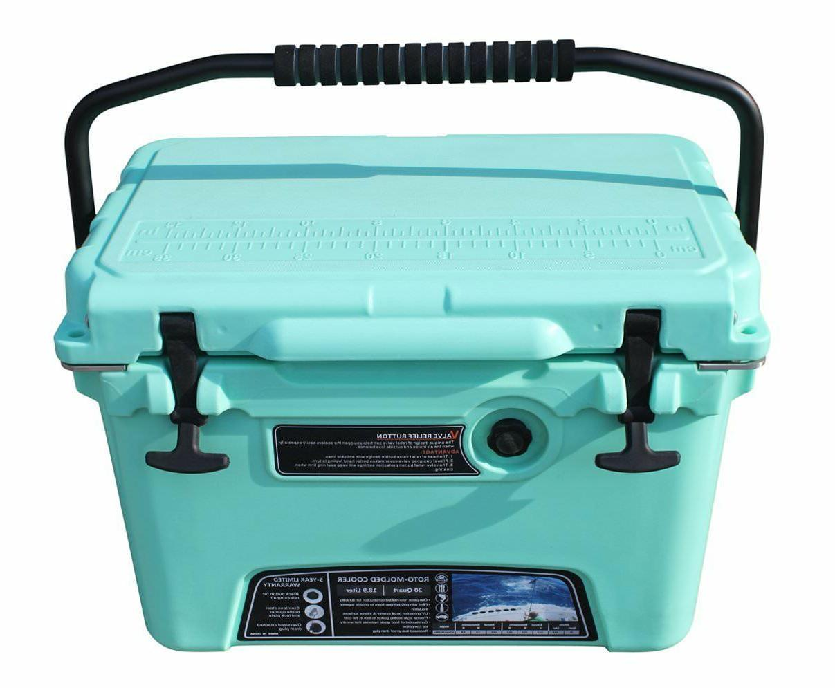 heavy duty cooler 20 qt include 28