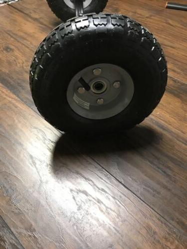 Heavy Duty Steel Chassis Wheel Yeti 75 Cooler