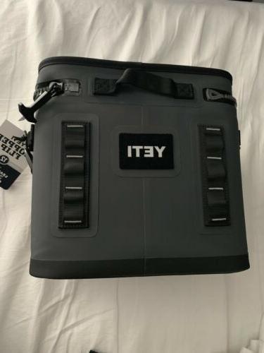 YETI Hopper FLIP 12 can GRAY Soft Side Cooler  BRAND NEW!!!