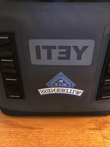 Yeti 12 Soft Cooler Logo Tags Shipping