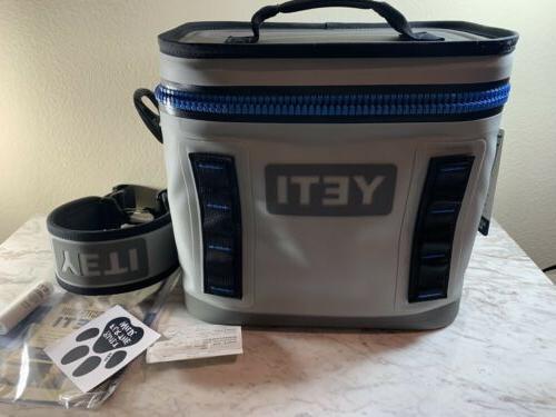 YETI Hopper Cooler Leakproof Fog Blue New Tags