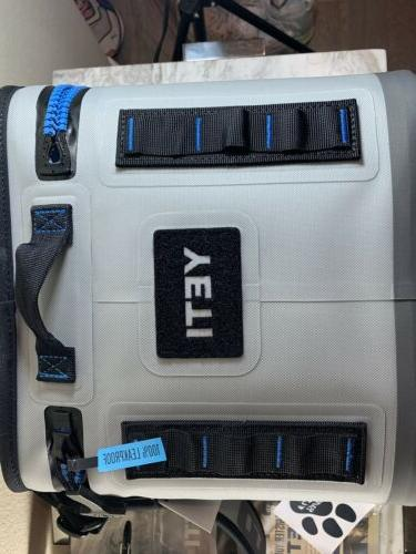 YETI Hopper 8 Cooler Blue Tags
