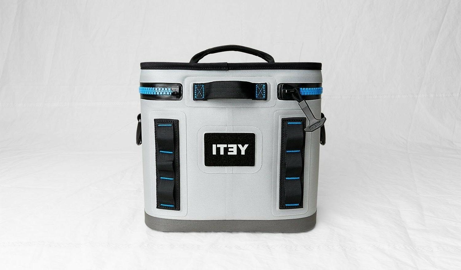 YETI Flip Portable Cooler, Fog Gray Ice Water Durable