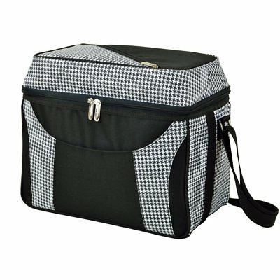 houndstooth dome top cooler