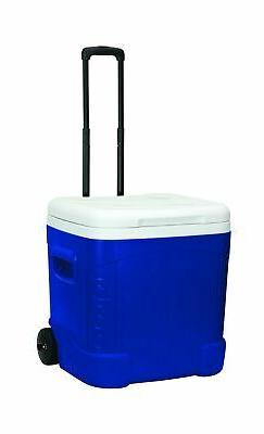 ice cube plastic cooler blue