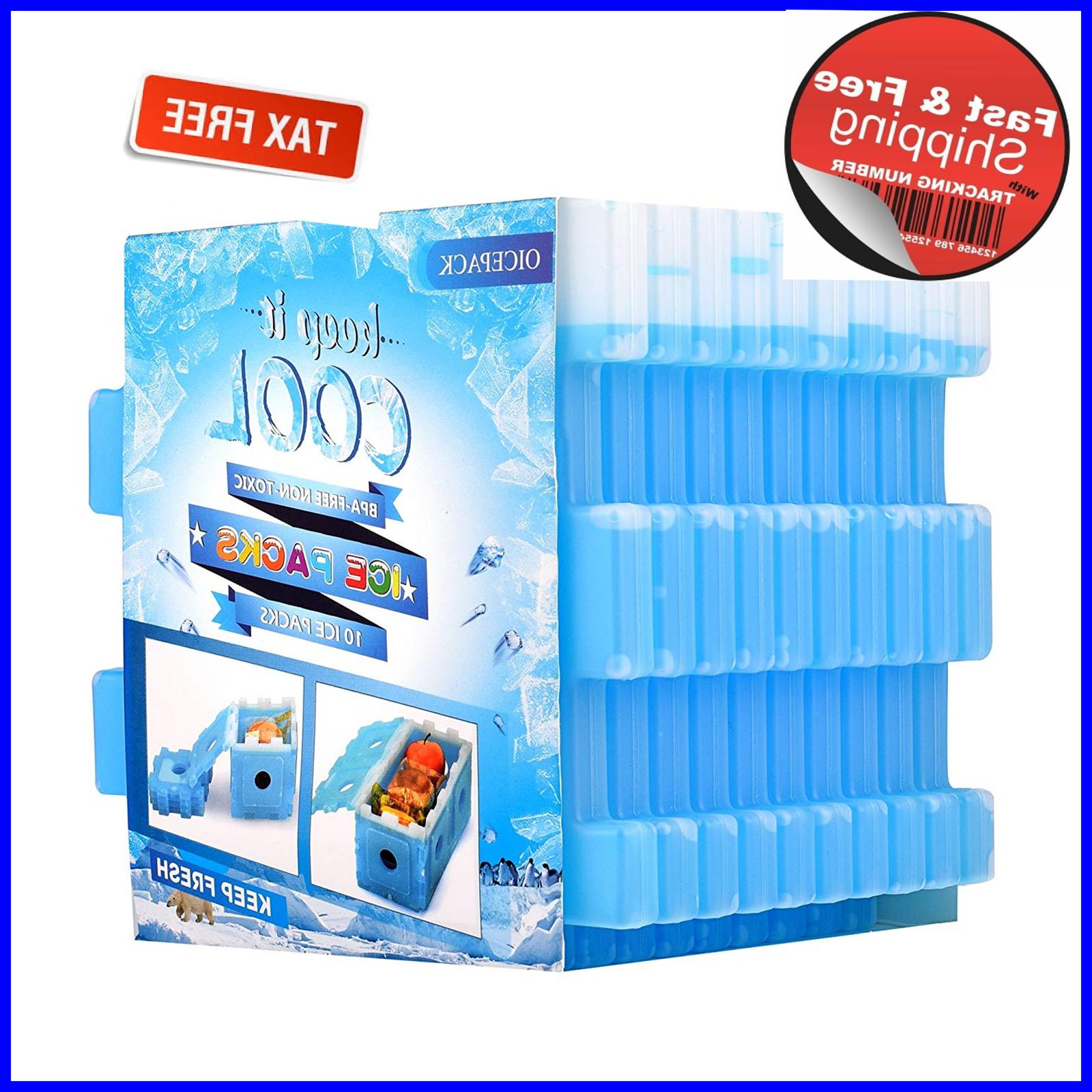 ice packs set of 10 cool pack