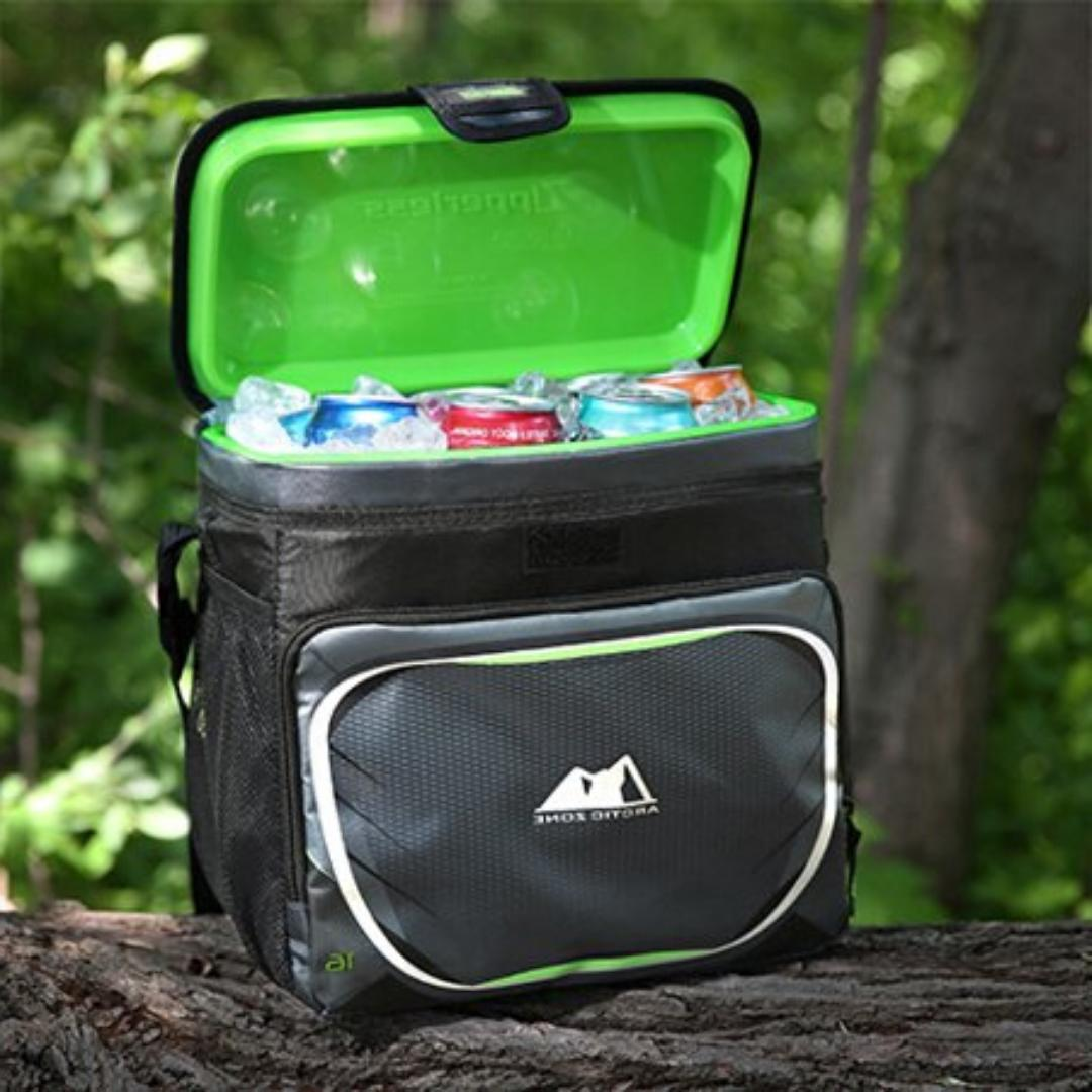 Insulated Cooler ARCTIC ZONE Zipperless Lid Removable
