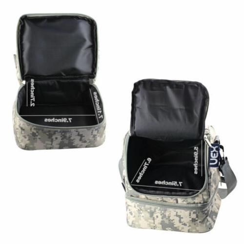 Insulated Cooler Picnic Bag Shoulder Women Men